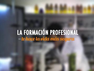 La Formación Profesional te hace la vida más segura