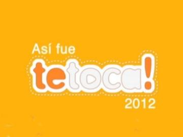 Te toca 2012