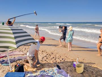 El corto '¿Lo ves?' de Patty Bonet en la selección oficial del Festival de Cine INCLUS