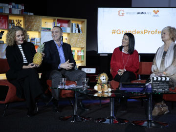 De izq. a dcha. María Acaso, Javier Bahón, Mar Romera y Mercedes Ruiz