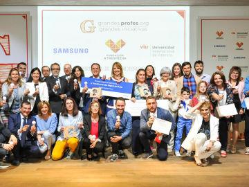 Los Premios 'Grandes Profes, Grandes Iniciativas' se consolidan como gran cita educativa