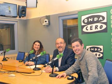 Raquel González entrevista a los responsables del curso 'Especialista en contenidos y producción de radio'