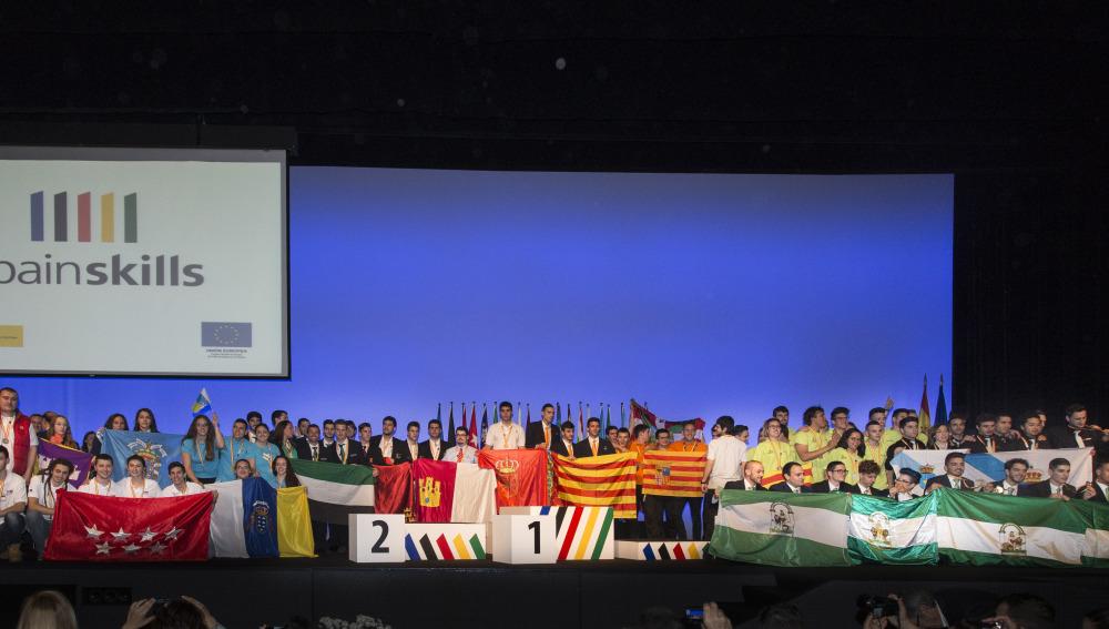 Entregadas las medallas a los  ganadores de  la 35ª edición de las  'Olimpiada' de FP