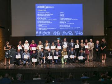 Finalistas en la VI edición de los Premios Correspondables