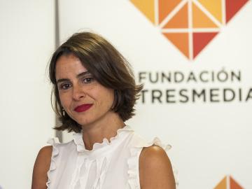 Lary León, coordinadora de Proyectos y Contenidos de la Fundación Atresmedia