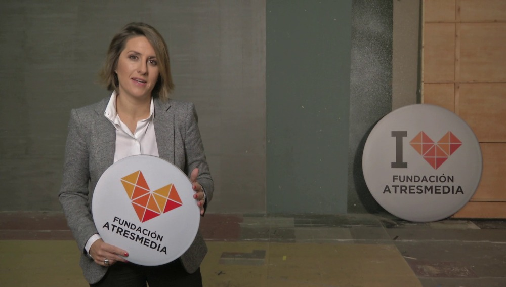 Saludo Patricia Pérez - Fundación Atresmedia
