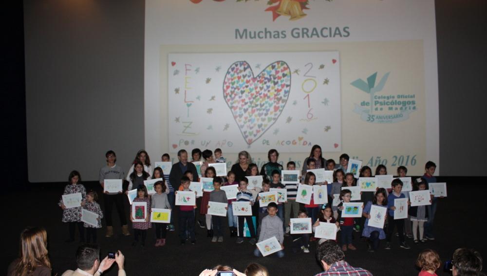 La Fundación Atresmedia, participa en la entrega de premios de la 10º edición del Concurso de Felicitaciones de Año Nuevo