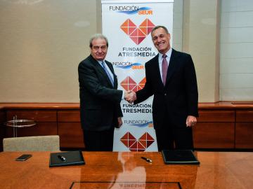 La Fundación ATRESMEDIA y la Fundación Seur renuevan su acuerdo de colaboración