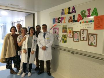 La Fundación Atresmedia visita siete  hospitales de la Región de Murcia