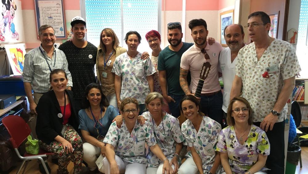 El Grupo Decai llena de música el Hospital Jerez de la Frontera