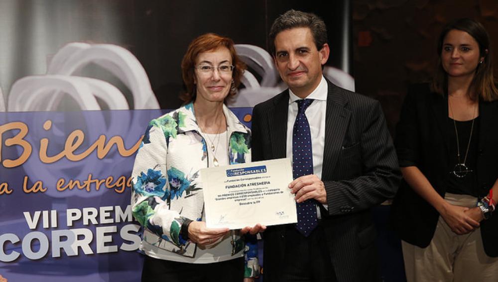 Reconocimiento para la Fundaciones Atresmedia y MAPFRE en los Premios Corresponsables