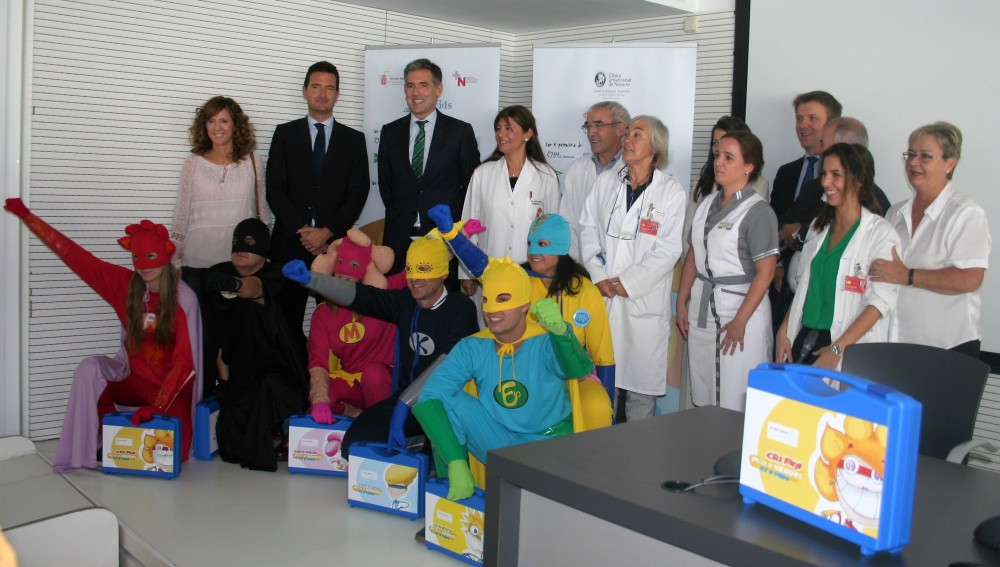 Seis superhéroes llegan a Navarra para ayudar a niños con cáncer