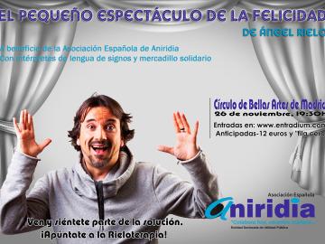 El humor solidario de Ángel Rielo en lengua de signos