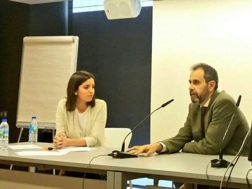 Moderamos dos ponencias pediátricas en el Hospital Rey Juan Carlos