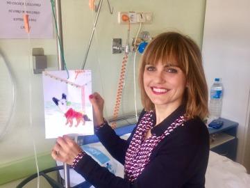 Lourdes Maldonado regala cuentos y sonrisas