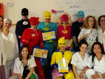Seis superhéroes llegan a Badajoz  para ayudar a niños con cáncer