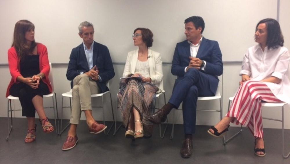 La directora de la Fundación Atresmedia, Carmen Bieger, modera el debate  'La comunicación de los proyectos sociales en las entidades empresariales