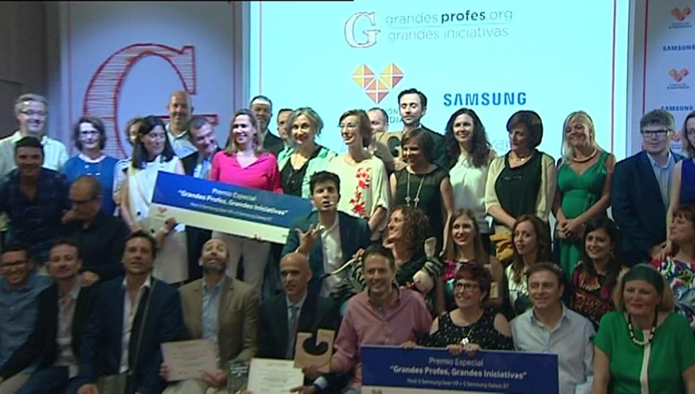 Gala entrega de premios 'Grandes Profes, Grandes iniciativas' 2016-2017