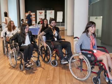Jornada para normalizar la discapacidad en el FesTVal de Vitoria
