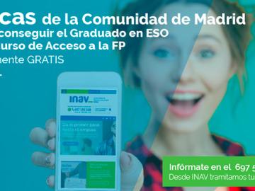 No te quedes sin tu beca de la Comunidad de Madrid para sacar la ESO gratis