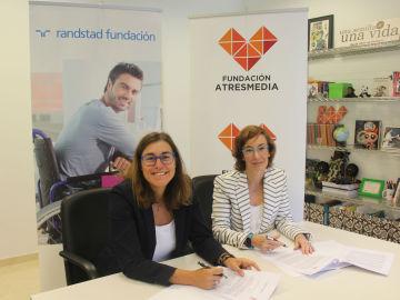 La Fundación Atresmedia y Fundación Randstad, juntas por  la normalización de las personas con discapacidad