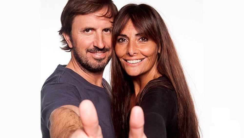 Jordi Ríos y Mónica Pérez, presentadores de los Premios Hospital Optimista