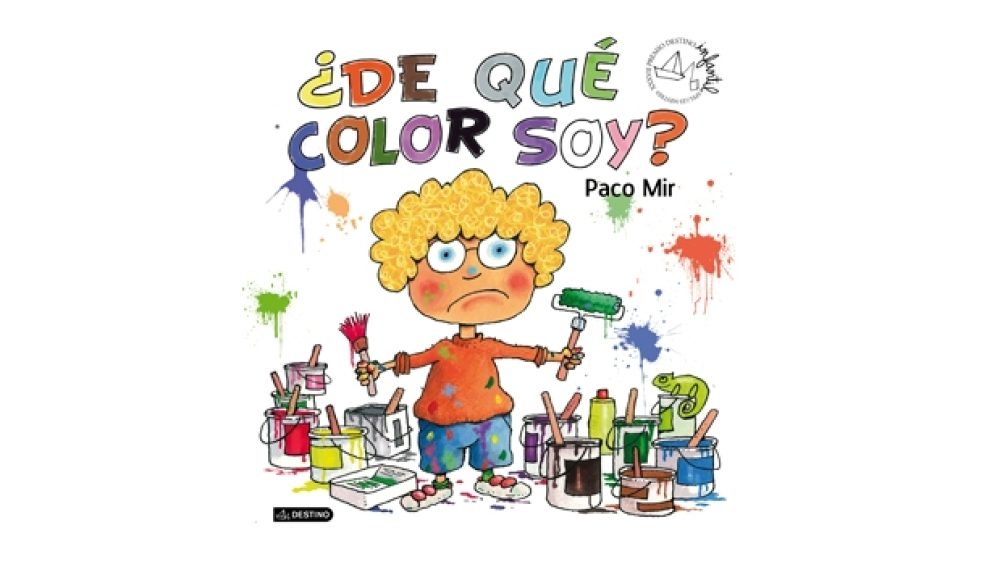 Paco Mir gana el XXXVII Premio Destino Infantil Apel.les Mestres con la obra '¿De qué color soy?'