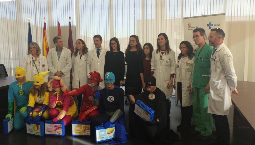 Seis superhéroes llegan a Castilla y León para ayudar a  niños con cáncer