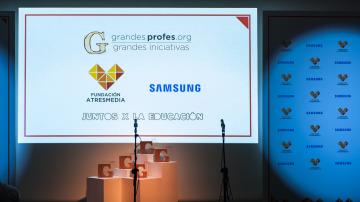 Mejores momentos de la gala de entrega de premios 'Grandes Profes, Grandes Iniciativas'