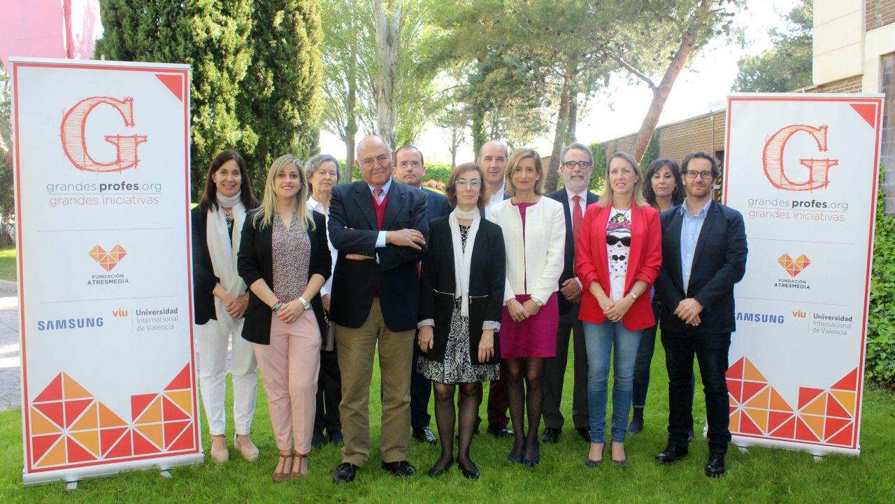Miembros del jurado 'Grandes Profes, Grandes Iniciativas'