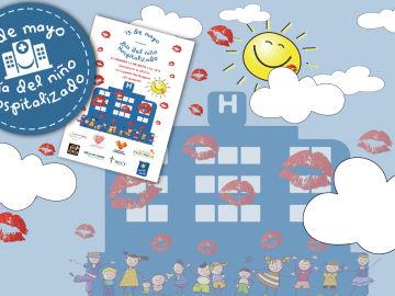 La Fundación Atresmedia y 24 entidades más llenan de besos los hospitales de toda España