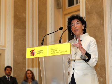 Isabel Celaá, nueva ministra de Educación, apuesta fuerte por la Formación Profesional